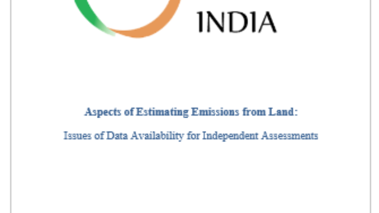 Aspects of Estimating Emissions from Land: Issues of Data Availability for Independent Assessments Introduction