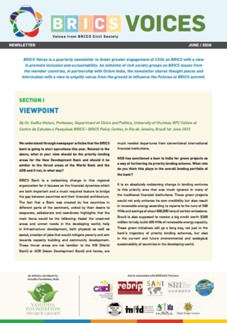Fourth Edition: BRICS Voices