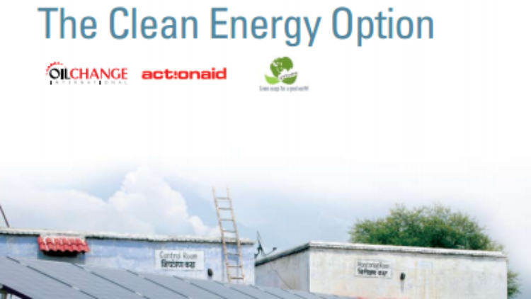 ACCESS TO ENERGY FOR THE POOR: THE CLEAN ENERGY OPTION