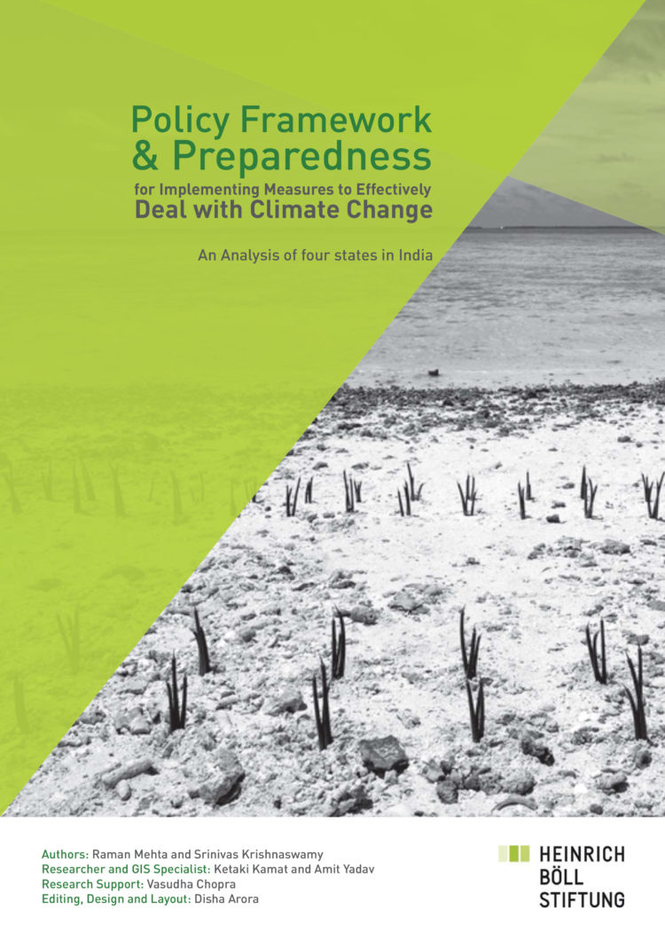 Policy Framework and Preparedness for Implementing Measures to Effectively Deal with Climate Change