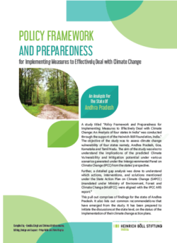 Assessing India's Preparedness to address Climate Change