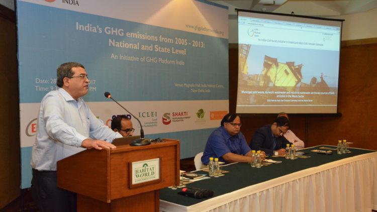 GHG Platform India- National and Sub-National GHG Emissions Estimates 2005-2013