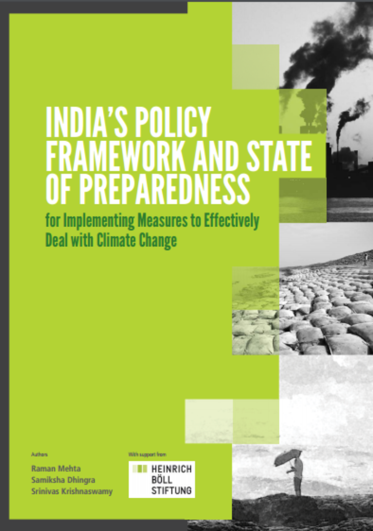 A Handbook of India's Policy Framework and State of Preparedness
